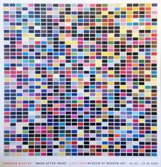 1025 Colours - Louisiana » Gerhard Richter » Kunst »