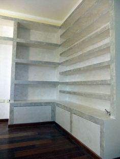 Libreria In Cartongesso Con Ante Scorrevoli.38 Fantastiche Immagini Su Librerie In Cartongesso Cartongesso