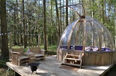 Glamping Yorkshire with Hot Tub