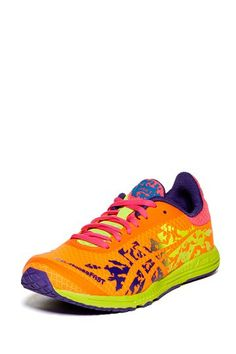 Neon strides, these would be motivation to run/work out more.  The colors make me happy.