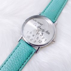 • I'm Already Late Watch • ITEM DETAILS: • Fashion watch • Analog • Stainless steel  DISCOUNT: • On bundles • 30% off for return customers  SHIPPING: • The next day  NOTE: • Color may be slightly different from the actual item due to the lighting • Reasonable offers welcome Accessories Watches