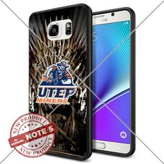 NEW UTEP Miners Logo NCAA #1661 Samsung Note 5 Black Case Smartphone Case Cover Collector TPU Rubber original by ILHAN [Game of Thrones] ILHAN http://www.amazon.com/dp/B0188GR30W/ref=cm_sw_r_pi_dp_fnMvwb1S7A0P7