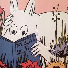 Moomin, The Bliss Of Solitude Tove Jansson, Illustrations, Illustration Art, Moomin Valley, Art Graphique, Oeuvre D'art, Art Inspo, Les Oeuvres, Childrens Books