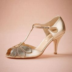 Vintage Gold Wedding Shoes Women Pumps Kitten Heel T-Straps Buckle Closure Leather Party Dance 3 High Heels Women Sandals Custom Made Size Online with $86.55/Piece on Graceful_ladies's Store | DHgate.com