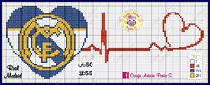 Real Madrid, Astros Logo, Houston Astros, Team Logo, Logos, Football Squads, Cross Stitch Embroidery, Sports, Flags