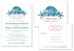 These printable press invitations would be great for a beach #wedding