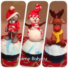 Christmas cupcakes by Prime Bakery