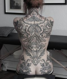 backpiece in progress 🌿 looking forward to finish this one 💫🙏 butterfly not by me 🙏… Full Back Tattoos, Full Body Tattoo, Body Art Tattoos, Girl Tattoos, Tattoos For Women, Back Tattoo Women Full, Pretty Tattoos, Beautiful Tattoos, Backpiece Tattoo
