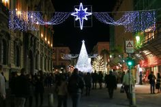 Catania via Etnea Natale 2014