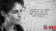 """NERI OXMAN, FOUNDER OF MEDIATED MATTER LAB -- Part 2 by THE NEXT LIST 