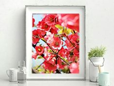Spring Is Coming, Flower Prints, Canning, Unique Jewelry, Handmade Gifts, Floral, Flowers, Nature, Shop