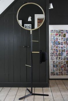 Standing mirror and valet stand by Rockett St. George-10 Best Storage Pieces