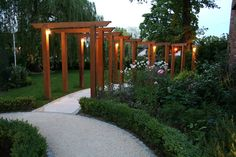 Look on Garden Builders and you'll find plenty of inspiration. The contemporary garden has gained popularity lately. I think this is due to the increase of modern housing with small gardens … Diy Pergola, Outdoor Pergola, Pergola Ideas, Cedar Pergola, Patio Ideas, White Pergola, Small Pergola, Pergola Roof, Pergola Plans