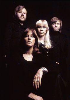 Bjorn Ulvaeus, Anni-Frid Lyngstad, Agnetha Faltskog & Benny Andersson (ABBA)