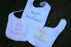 Ready for the church diaper bag. Faith In Love, Love Sewing, Baby Bibs, Burp Cloths, Catholic, Diaper Bag, Parents, God, Trending Outfits