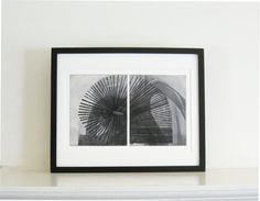 Etching Art Print .Black and White Home Decor  Arc. by ElviaPerrin, $250.00