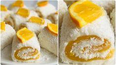 Portakallı Saray Sarması Tarifi Snack Recipes, Snacks, Sushi, Food And Drink, Cheese, Ethnic Recipes, Kuchen, Essen, Snack Mix Recipes