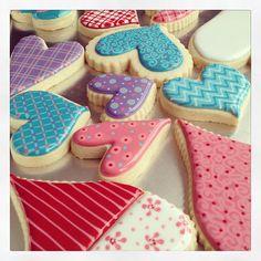 CookieCrazie: Various Valentines Day Cookies