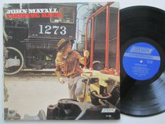Vinyl Record LP John Mayall Looking Back Blues by RecordStoreGirl
