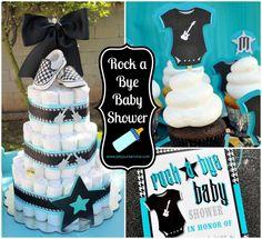 boy baby shower idea www.spaceshipsandlaserbeams.com