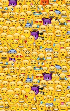 Emojis wallpaper. Soo cool