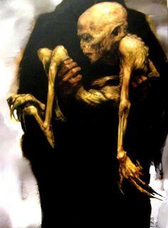 Concept Art Harry Potter: Voldemort