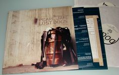 Pearl Jam Lost Dogs (Rarities & B-Sides) 3x Vinyl LP Sony Music 2003 /  E3 85738
