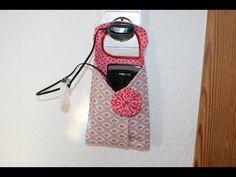 Handytasche / Smartphonetasche nähen DIY - YouTube
