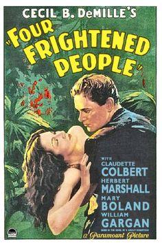 "Náufragos en la Jungla ""Four Frightened People"", de Cecil B. DeMille, 1934"