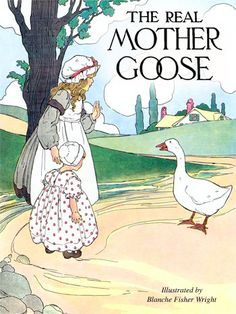 Illustration for the CyberCrayon cover, by Blanche Fisher Wright - from The Real Mother Goose