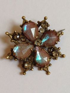 ORIGINAL-ANTIQUE-LATE-VICTORIAN-SAPHIRET-BROOCH-PIN