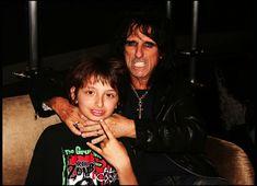 Alice Cooper and His Son Dashiell Cooper was born in Alice Sweet Alice, Go Ask Alice, Alice Copper, Best Heavy Metal, Alternative Music, Rockers, Vampires, Rock Music, Alice In Wonderland