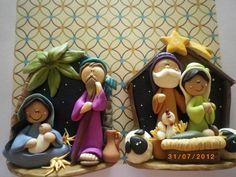 Ideas de pesebres en porcelana fría para Navidad | Todas las imágenes