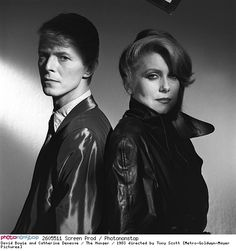 David Bowie and Catherine Deneuve / The Hunger / 1983 directed by Tony Scott [Metro-Goldwyn-Mayer Pictures]