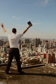 My favorite missionary son out in Taiwan. We are so proud of him and LOVE this picture!!