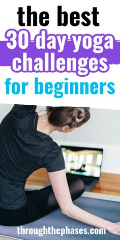 If you're looking to advance your yoga practice or get started as a beginner, 30 day yoga challenges are a great way to commit to the spiritual practice. These are some of the best 30 day yoga challenges for beginners and experienced yogis alike. You'll get access to daily yoga videos so you can start seeing some real progress! #spiritualpractice #yoga #yogachallenge Spiritual Practices, Spiritual Growth, 30 Day Yoga Challenge, Home Yoga Practice, Yoga With Adriene, Bhakti Yoga, Daily Yoga, Yoga Tips, Yoga Videos