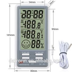 LCD thermometer hygrometer DC803