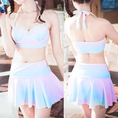 565ad7bdb0b1c S-XL pastel princess shell bikini Set sold by Fashion Kawaii  Japan    Korea . Shop more products from Fashion Kawaii  Japan   Korea  on Storenvy