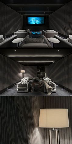 Home Cinema. West London House by SHH
