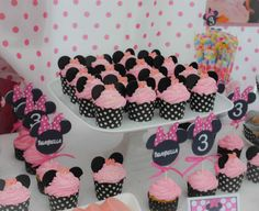 Minnie Mouse 3rd Birthday | CatchMyParty.com