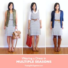 How to Wear a Dress in Multiple Seasons