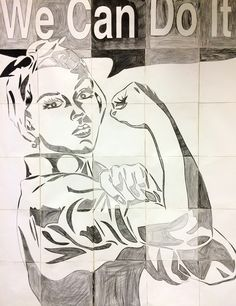 22 Best Group Murals Grid Drawings Images Visual Arts Art