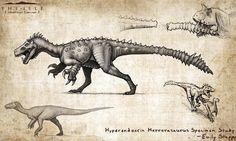 Hyperendocrin Herrerasaurus by EmilyStepp.deviantart.com on @DeviantArt