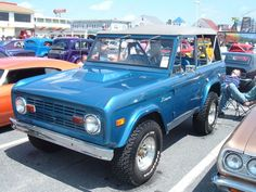 1975 Classic Bronco. This was my dream car back in the day.