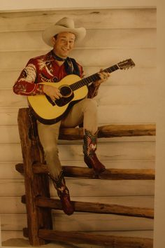 Roy Rogers. Nothing like Cowboy Tunes!