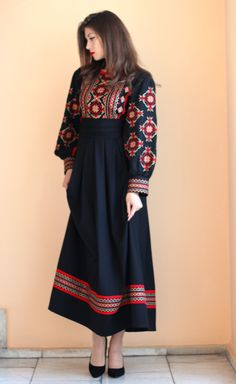 Casual Day Outfits, Casual Formal Dresses, Stylish Dresses, Sexy Dresses, Frock Fashion, Abaya Fashion, Muslim Fashion, Fashion Dresses, Kaftan Designs