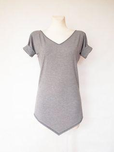 Unique long tshirt for women by Rockshirt