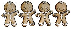 free digi image--Coloring gingerbread men with Copic Markers