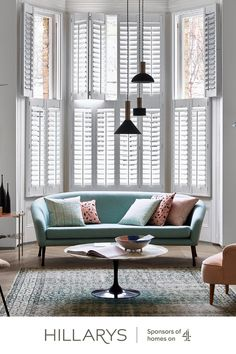 Welcome to a new collection of scene-stealing shutters for discerning homes.