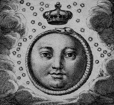 Carlo d'Aquino -Sacra exequialia in funere Jacobi II magnae Britanniae regis (detail), 1702.